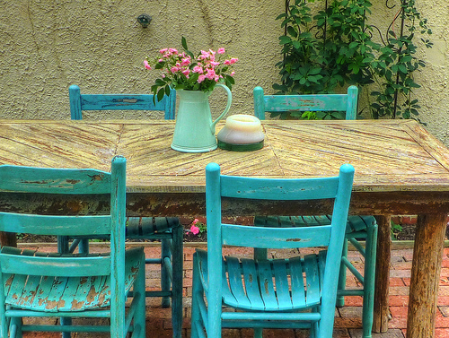 vrt, pohištvo
