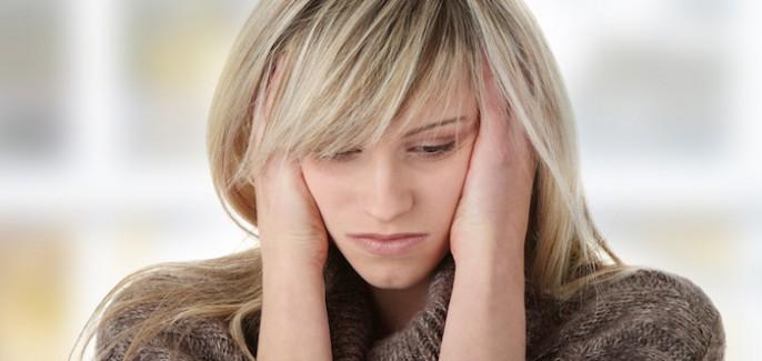 Anksiozne motnje so pogoste psihiatrične motnje